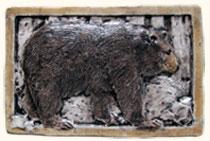 Rustic Relief Decorative Wildlife Animal Ceramic Art Tiles